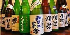 厳選の日本酒 常時30種類以上