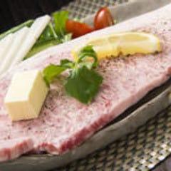 黒毛和牛サーロイン網焼きステーキ