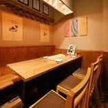 ◆オシャレなテーブル席◆テーブル6名様×1
