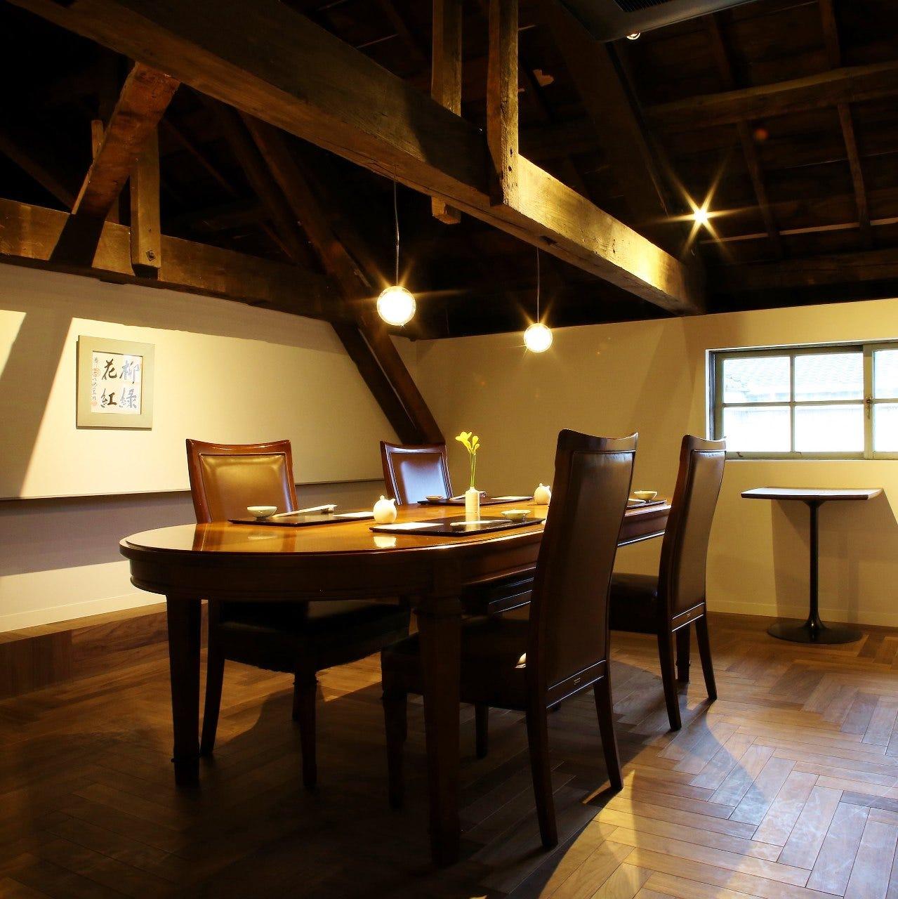テーブル席・完全個室(壁・扉あり)・5名様~6名様