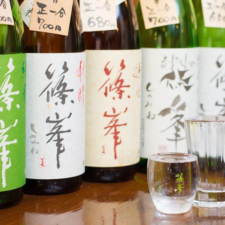 地酒「篠峯」×ふぐのマリアージュ