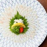 長崎県対馬産の上質とらふぐを厳選 一年中、新鮮で美味いふぐをご用意しております