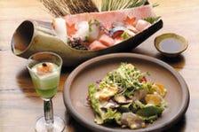 旬の素材を使った創作和食料理!