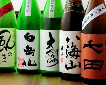 全国各地の日本酒、焼酎!
