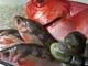 明石産以外にも金目鯛などの魚介類もたくさん!