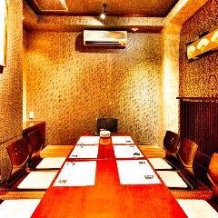 炙り肉寿司食べ放題 完全個室 和食の故郷 ‐神田本店‐
