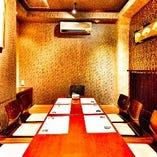 《接待に最適な個室席》和食の故郷 ‐神田店‐~寛ぎの個室空間~