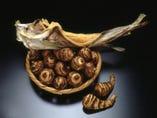 海老芋と棒鱈