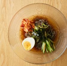 優しい味わいの自家製冷麺で〆を