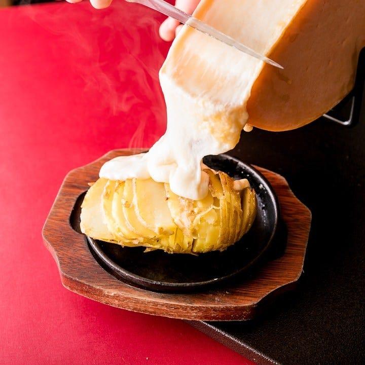 とろ~り濃厚!ラクレットチーズ