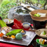 季節が織りなす四季折々な食材の京懐石