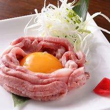 市内の屠場より仕入れる新鮮な極上肉