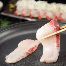絶品!焼しゃぶで魚の美味さを再発見