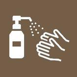 ◆入口、店内にアルコール消毒液を設置しております