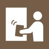 ◆開店前、お客様をご案内する前にお席の消毒を徹底しております