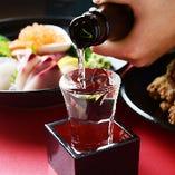 全国選りすぐりの日本酒や焼酎をご用意しています!