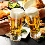 【毎週木曜限定】17:00~19:00ハッピーアワー開催♪ 生ビール&ハイボール、レモンサワー/各220円
