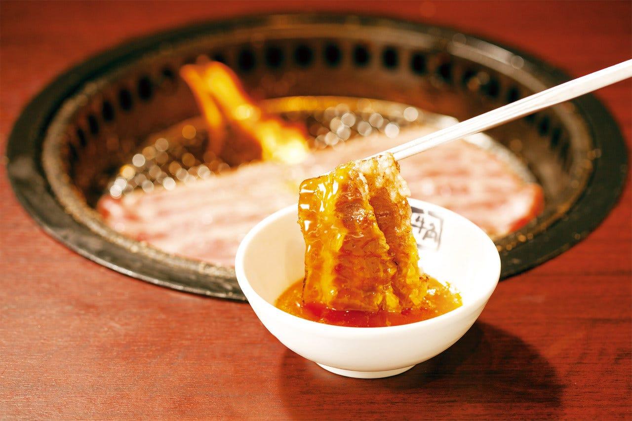 黒毛和牛の焼きしゃぶ 690円(税抜)