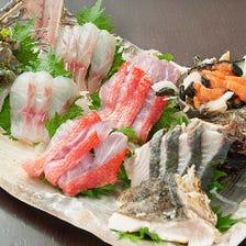 数量限定!地元で穫れた新鮮魚介