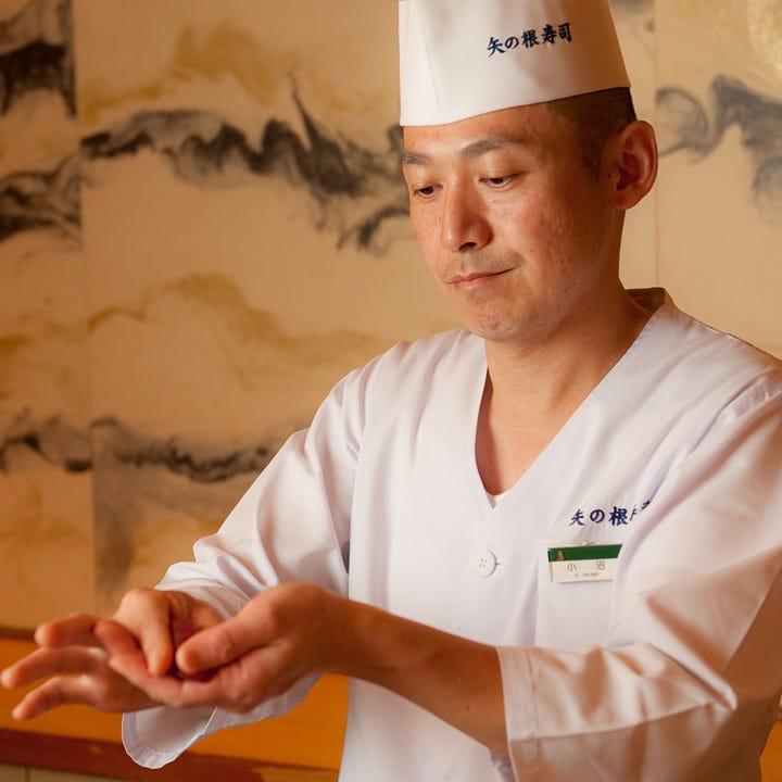 寿司職人が出向きお客様の目の前で握るケータリングサービス