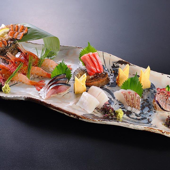 当店では極上日本酒に合う絶品料理を多数取り揃えております