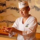 【伝統の味】 熟練職人が握る『寿司』を存分にご堪能あれ!