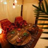 ソファー席の個室