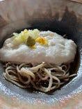 やまかけそば膳(冷・温)(鳥取の砂丘で栽培された粘りの強い山芋をたっぷり使用してます)