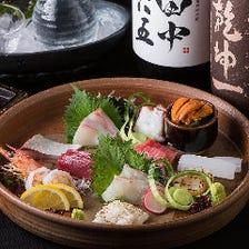 鮮魚も「博多の台所」より仕入れ