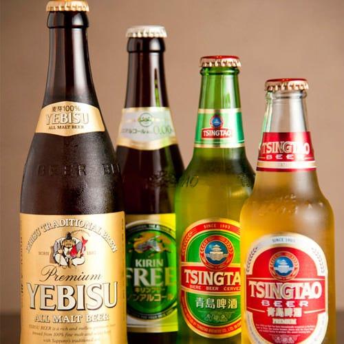 青島ビールもご用意。火鍋にビールは最強の組み合わせ!
