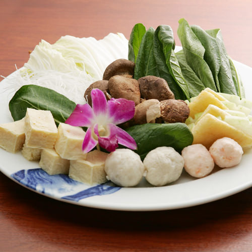 お野菜もたっぷり お召上がり頂けます。