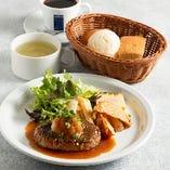 淡路産牛のハンバーグステーキ