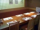 6~8名様のテーブル席を2部屋。