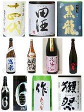 東海トップクラス 日本酒 焼酎の種類