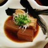 岩中豚の角煮と大根