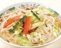野菜たっぷりタンメン