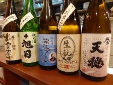 ■島根の地酒各種ご用意しております