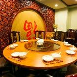 3階円卓テーブル席(~9名様×6)