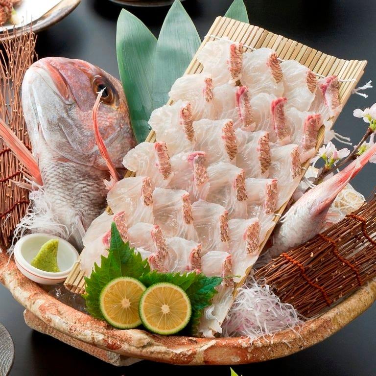 ■誕生日・お祝いに『鯛の姿造り』を無料で御用意致します!