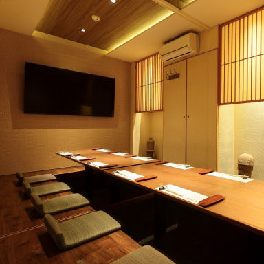 活イカと海鮮を個室で愉しむ 喜水亭 和樂 天神 店内の画像
