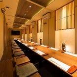 ■団体の御予約は『最大40名様』対応可能な個室を完備!■