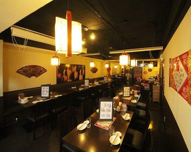 西安刀削麺酒楼 本厚木店 店内の画像