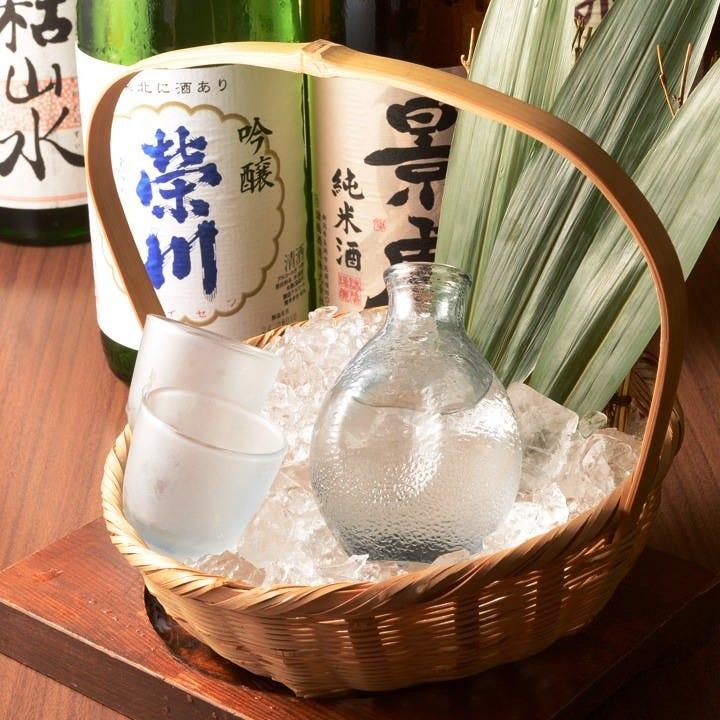 店長自ら購入する厳選日本酒と焼酎!