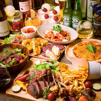 #お肉とチーズとワイン next..肉MARKET 天王寺店 こだわりの画像