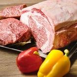 国産牛を一頭買い!肉質や産地にもとことんこだわった自慢の肉料理をご賞味下さい!