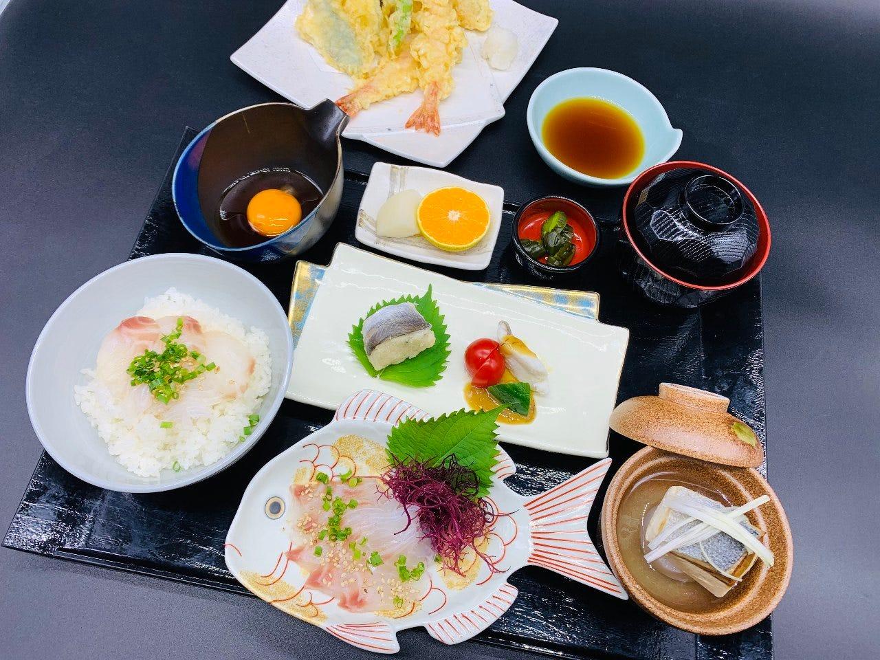 ◆地元食材を使用したメニュー