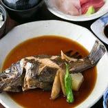 本日の煮魚 定食