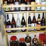 お酒も焼酎や日本酒など豊富にあります。