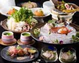 【お飲み物付】旬の食材を一手間かけた至れり尽くせり10,000円コース