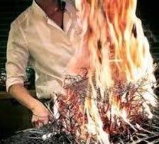 博多新風! 鮮魚を藁焼き!